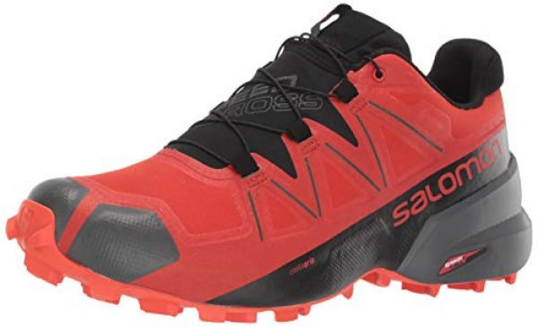 calzado salomon tallas rojas