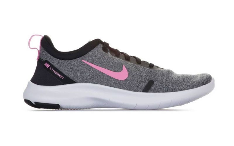 Zapatillas Nike Flex Experience RN 8 Gris Rosa Mujer