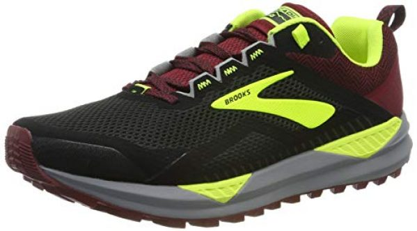 Chaussures de Marche 4E Largeur Brooks Homme Addiction Walker Noir