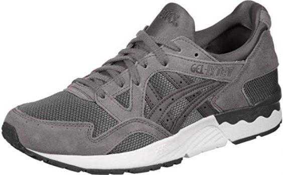 Gris Asics Gel Lyte V Bajo Zapatos Para Correr Asics Mujer
