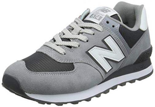 new balance hombres gris 574