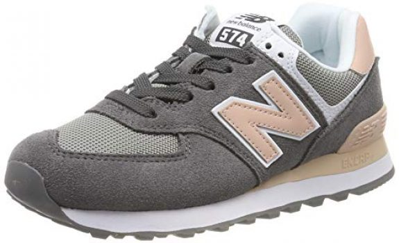 new balance gris mujer 574
